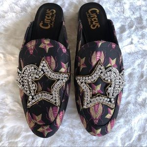 NEW Circus Sam Edelman Embellished Mules Shoes